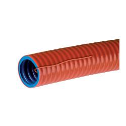 Conduit DuoGliss tube pour canalisation diamètre 32mm avec tire-fils pour courants forts finition RAL2002 (01432) - LEGRAND