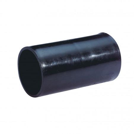 Manchon noir IP54 pour conduit tube pour canalisation diamètre 50mm (01501)