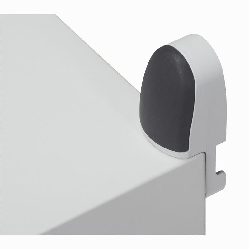 Charge 150kg Legrand 036409 Pattes de Fixation Murale pour Coffret Marina 400mm /à 1200mm Hauteur Lot de 4