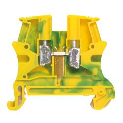 Bloc de jonction pour conducteur de protection à vis Viking3 avec 1 jonction 1 entrée 1 sortie section 6mm2 pas 8mm (037172) - LEGRAND