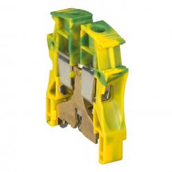 Bloc de jonction pour conducteur de protection à vis Viking3 avec 1 jonction 1 entrée 1 sortie section 35mm2 pas 15mm (037175) - LEGRAND