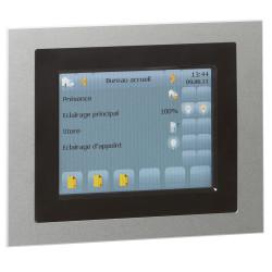 Commande filaire tactile 5,7pouces Mosaic pour pilotage de plusieurs contrôleurs BUS KNX (048884) - LEGRAND