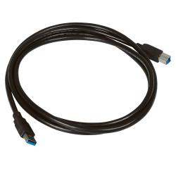 Cordon USB Data 3.0 embouts typeA mâle et typeB mâle longueur 2m (051402) - LEGRAND