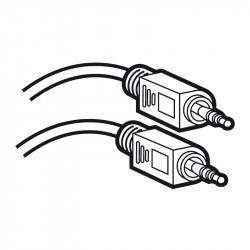 Cordon audio stéréo Jack 3,5mm embouts mâle et mâle longueur 5m (051408) - LEGRAND
