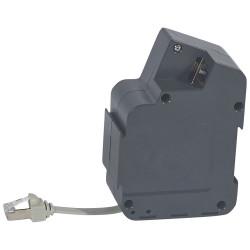 Module RJ45 catégorie6 FTP rétractable pour installation sous le bureau (054065) - LEGRAND