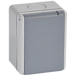 Prise 3P+T étanche 32A Plexo complet IP55 saillie gris (055875) - LEGRAND