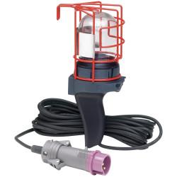 Baladeuse chantier 24V 75W maximum IP55 avec fiche Hypra droite et cordon longueur 10m (062215) - LEGRAND
