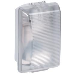 Hublot rectangulaire étanche Plexo avec diffuseur clair pour lampe E27 (062400) - LEGRAND