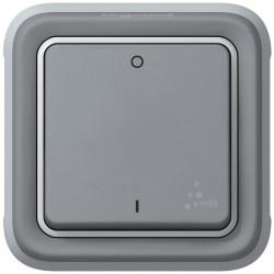 Interrupteur bipolaire Plexo composable IP55 10AX 250V gris (069530) - LEGRAND