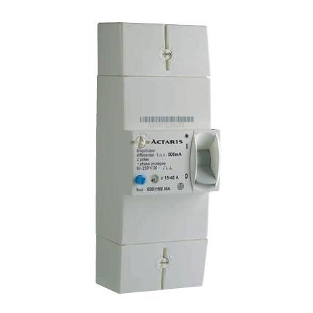 Disjoncteur EDF 2P 15-45A Diff 500mA (081245) - ACTARIS
