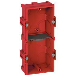 Boîte multiposte Batibox pour maçonnerie 2 postes ou 4 à 5 modules profondeur 40mm (080142) - LEGRAND
