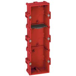 Boîte multiposte Batibox pour maçonnerie 3 postes ou 6 à 8 modules profondeur 40mm (080143) - LEGRAND