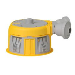 Boîte Modul'up pour faux plafond diamètre 80mm profondeur 50mm avec 2 entrées 20mm connexion sans outil 6x1,5mm2 (088500) - LEGRAND