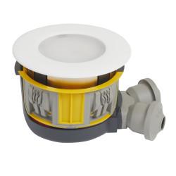Kit Modul'up spot complet avec 1 boîte Modul'up + 1 spot IP44 blanc (088535) - LEGRAND