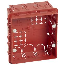 Boîte Batibox maçonneroe pour écrans tactiles 3,5pouces 109x106mm profondeur 50mm (089279) - LEGRAND