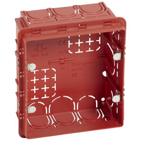 Boîte Batibox maçonneroe pour écrans tactiles 3,5pouces 109x106mm profondeur 50mm (089279)