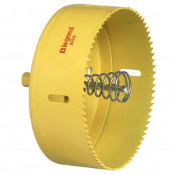 Scie cloche diamètre 127mm pour boîte Batibox coupe feu cloisons sèches (089369) - LEGRAND