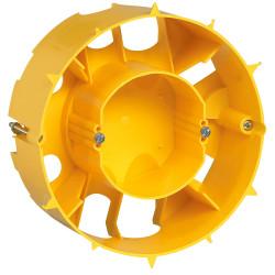 Boîte coupe feu Batibox cloisons sèches à vis diamètre 127mm profondeur 55mm (089378) - LEGRAND