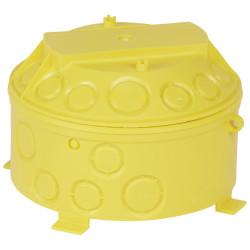 Boîte pour combles et hourdis Batibox cloisons sèches diamètre 140mm profondeur 100mm (089380) - LEGRAND