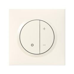 Variateur toutes lampes dooxie 2 fils sans Neutre livré avec plaque carrée blanche et griffes (095013) - LEGRAND