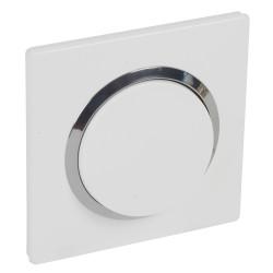 Va et vient 10a blanc chrome complet a griffes (095021) - LEGRAND