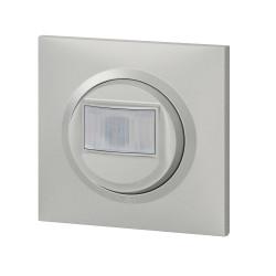 Interrupteur automatique dooxie 2 fils sans Neutre livré avec plaque carrée alu et griffes (095034) - LEGRAND