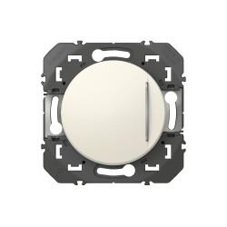 Interrupteur ou va-et-vient avec voyant lumineux dooxie 10AX 250V~ finition blanc emballage blister (095202) - LEGRAND