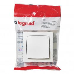 Interrupteur ou va-et-vient Appareillage saillie Blanc (097340) - LEGRAND