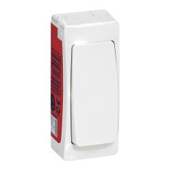 Interrupteur ou va-et-vient version étroite Appareillage Saillie Blanc (097601) - LEGRAND