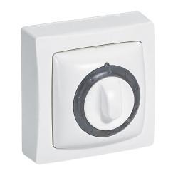 Interrupteur temporisé lumineux Appareillage Saillie Blanc (097606) - LEGRAND