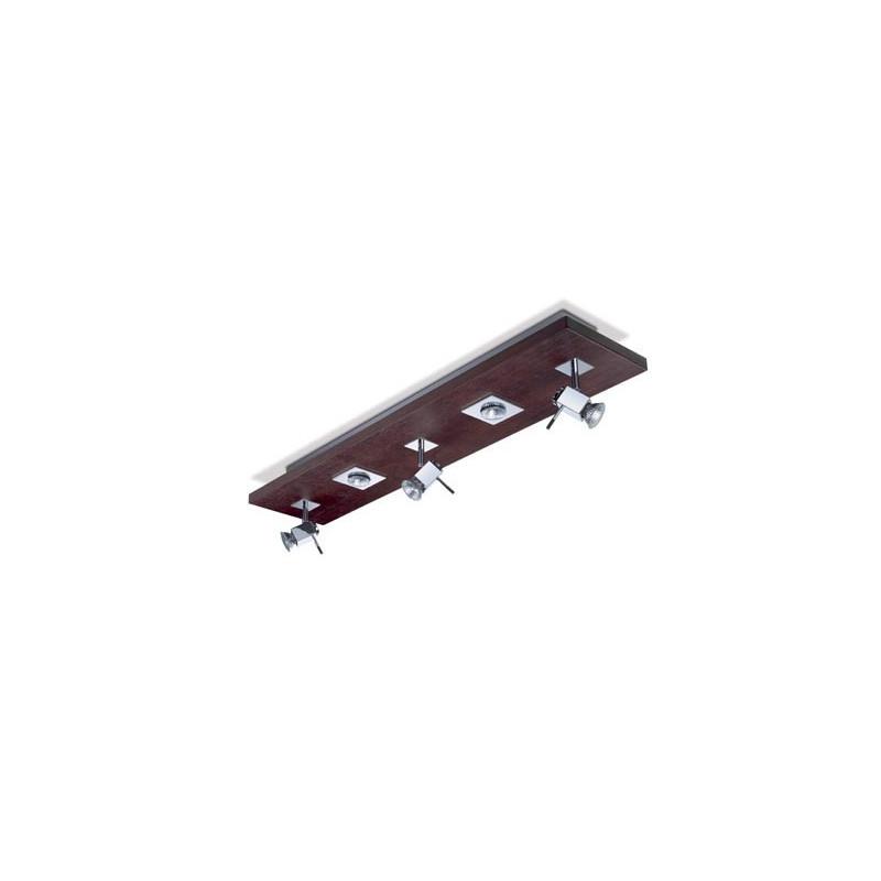 Plafonnier Wood Quintuple Ligne - LEDS-C4