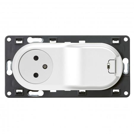 Prise Céliane Surface + chargeur USB avec plaque + boite 1
