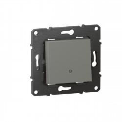 Interrupteur ou va-et-vient lumineux Altège 10A avec connexion à bornes automatiques finition Nuage (BTAL03CD) - LEGRAND
