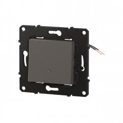 Interrupteur ou va-et-vient témoin Altège 10A avec connexion à bornes automatiques finition Nuage (BTAL04CD) - LEGRAND