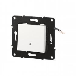 Interrupteur ou va-et-vient témoin Altège 10A avec connexion à bornes automatiques finition Neige (BTAL04DD) - LEGRAND