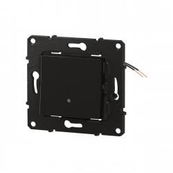 Interrupteur ou va-et-vient témoin Altège 10A avec connexion à bornes automatiques finition Nuit (BTAL04SD) - LEGRAND