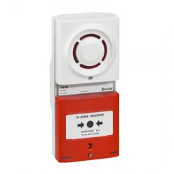 Tableau d'alarme incendie de type 4 à pile (346002) - URA