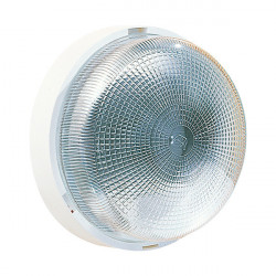 Hublot rond 62 100W E27 blanc