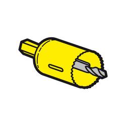 Scie cloche diamètre 40mm pour boite applique Batibox cloisons sèches référence 089346 (089349) - LEGRAND