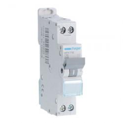 Disjoncteur 1P+N 3kA C -...
