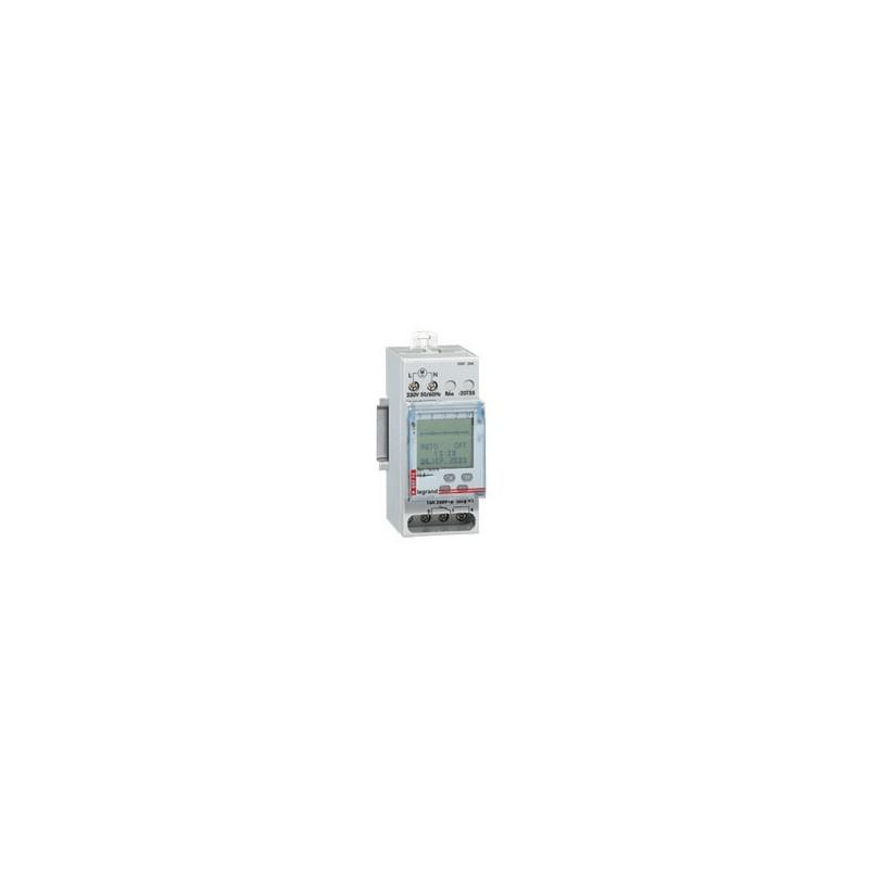 Inter Horaire Programmable Digital Lexic - Auto - Multifonction -2 Sortie 250 V (412641) - LEGRAND