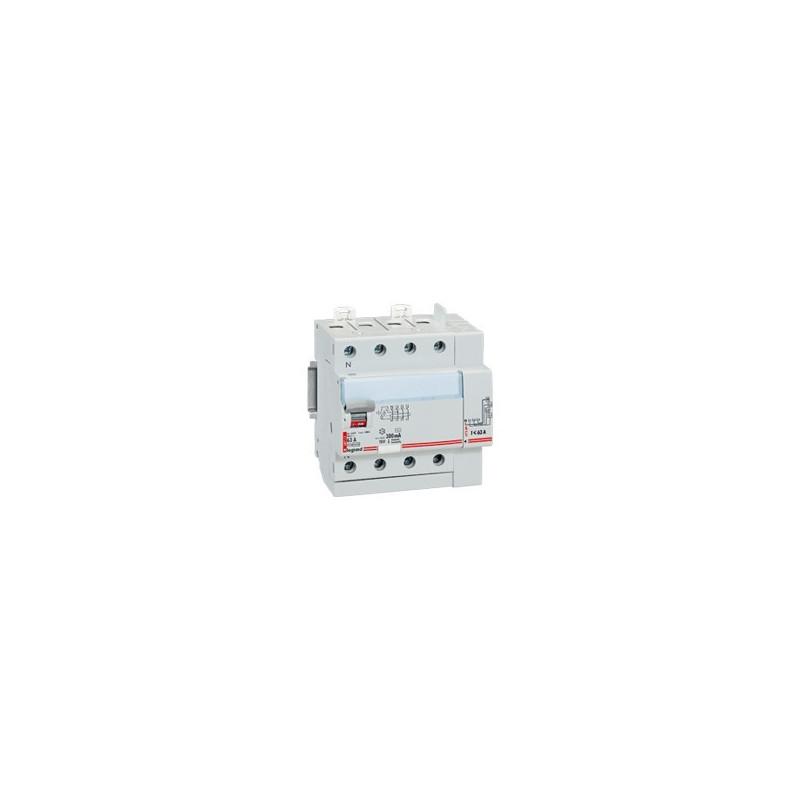 Inter Différenciel 40 A 4P Type Ac 300 Ma 400 V~ Départ Haut (411654) - LEGRAND