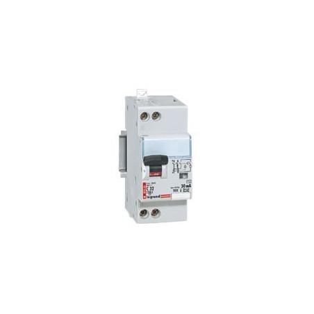 Disjoncteur Différentiel 32 A - Type Ac - 300 Ma - Bornes Auto - Uni+N - 230V (410732) - LEGRAND