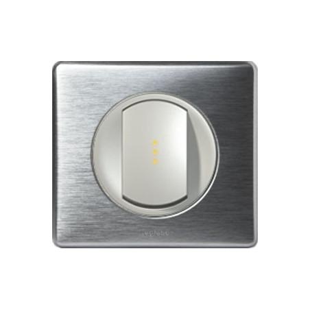 Aluminium - Va-Et-Vient 10 Ax À Voyant - LEGRAND