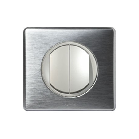 Aluminium - Double Va-Et-Vient - LEGRAND
