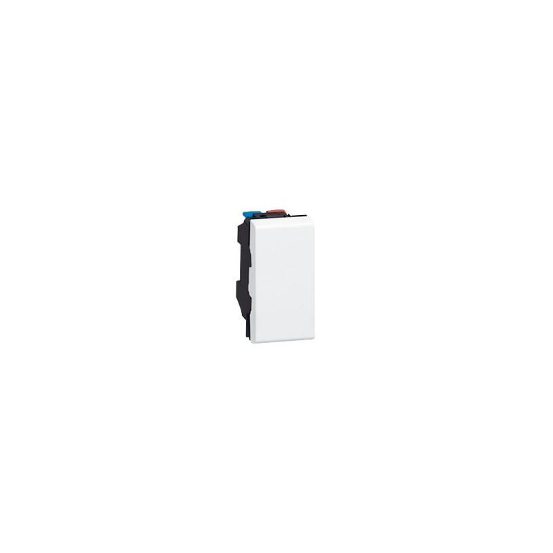 POUSSOIR MOSAIC - 1 MOD - 6 A - BLANC (077030) - LEGRAND