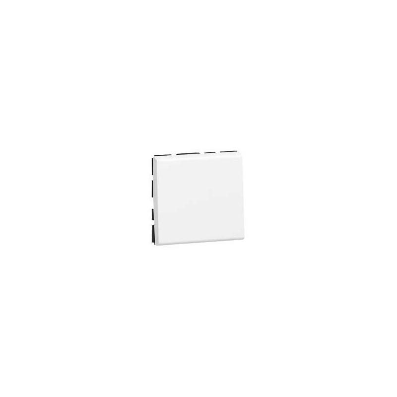 POUSSOIR MOSAIC - 2 MOD - 6 A - BLANC (077040) - LEGRAND