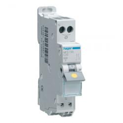 Disjoncteur 1P+N 3kA C-20A...