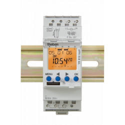 Horloge programmable 2 modules 1 Contact - THEBEN
