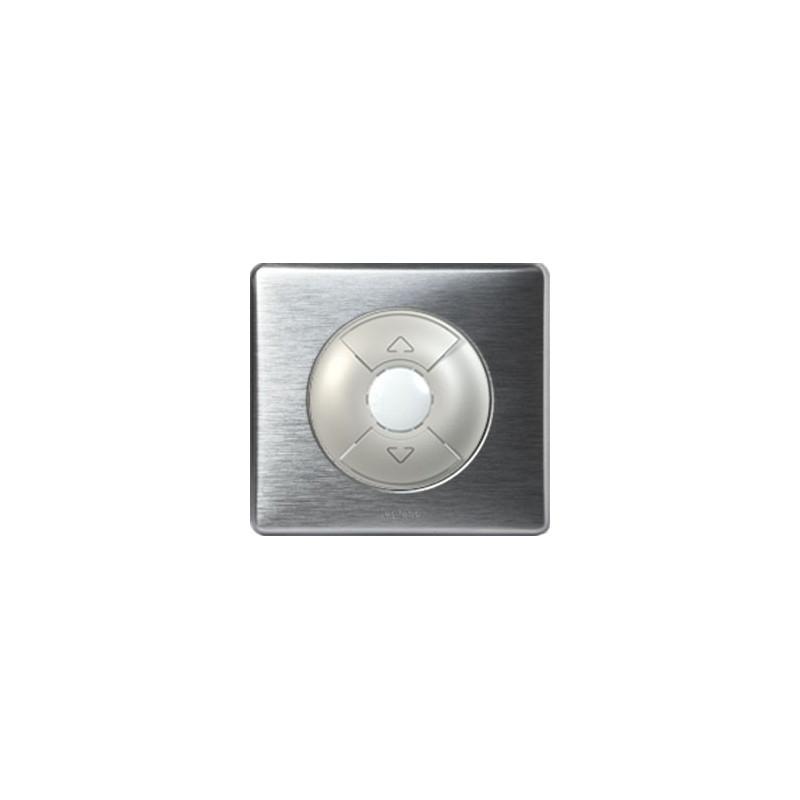 Aluminium - Interrupteur Volets/Stores - LEGRAND
